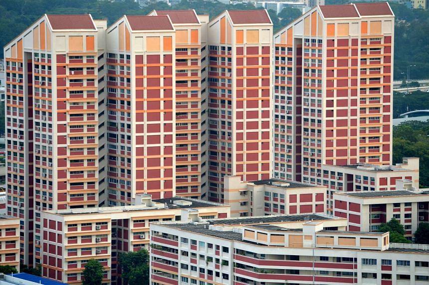 Blocks of HDB flats in Bishan estate.