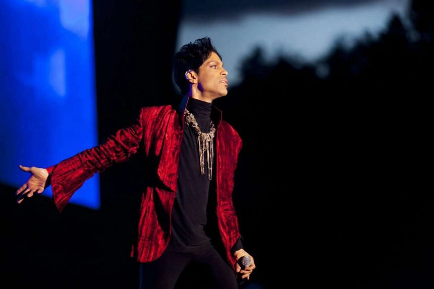 Prince performs at the Sziget Festival in Budapest, Hungary in 2011.