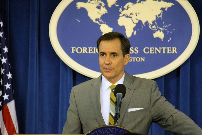 US State Department spokesman John Kirby said that launches using ballistic missiles are a clear violation of multiple UN Security Council resolutions.