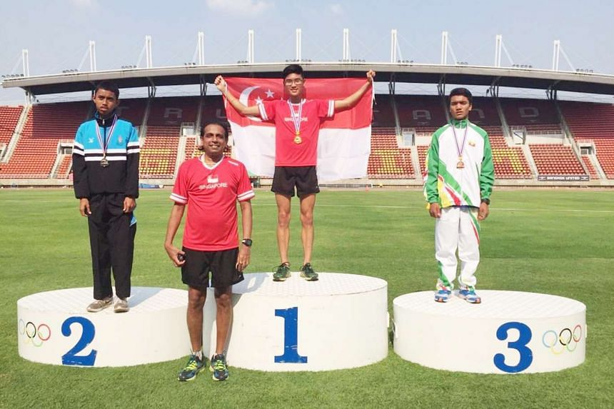 Singapore's youth athletes have bagged four gold medals at the 11th SEA Youth Athletics Championships.