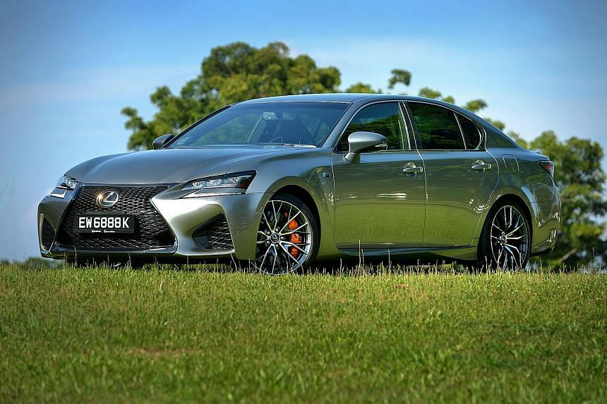 The new Lexus GS F drives like a Continental car, but with a refinement the carmaker is known for.