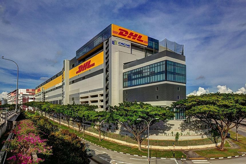 Cache Logistics Trust said income from a new logistics warehouse facility, the DHL Supply Chain Advanced Regional Centre (above), completed in Singapore last July, contributed to gross turnover growth.