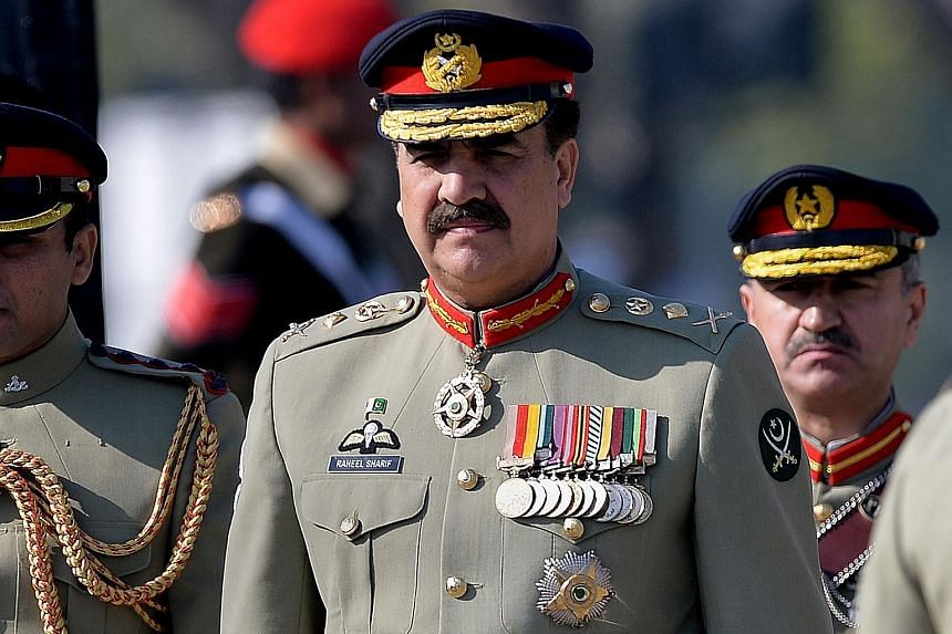 Word of the dismissals has burnished the image of Pakistan's army chief Raheel Sharif, who is already popular because of his strikes on militants in regions where his predecessors feared to go.