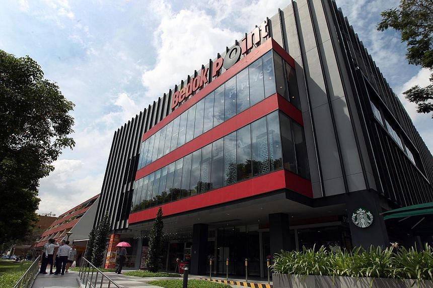 Occupancy at Bedok Point improved 9.3 percentage points to 86.1 per cent with a gym operator starting a lease last month. Occupancy of the mall is expected to remain volatile.