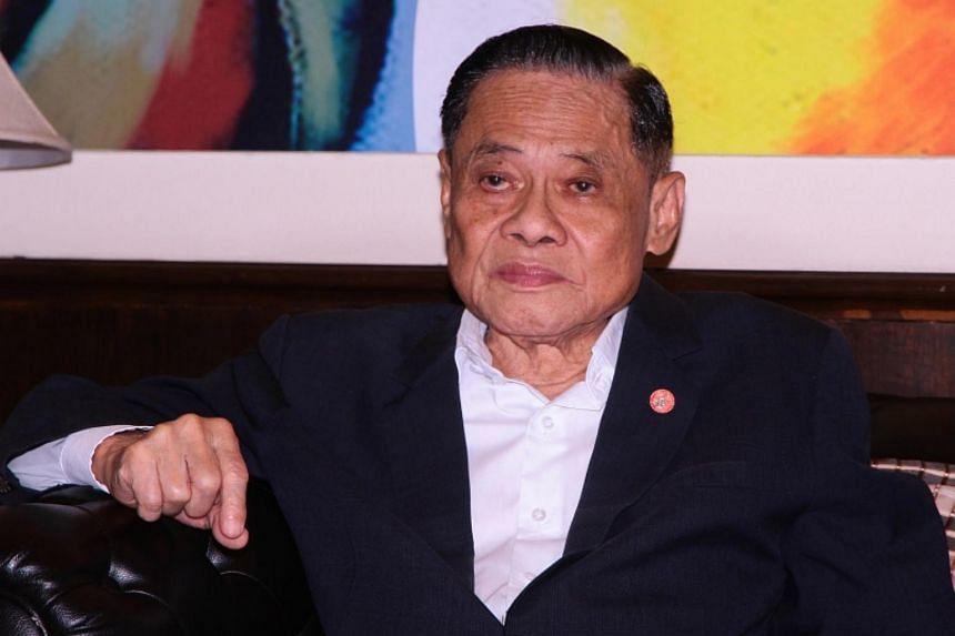 Former Thai PM Banharn Silpa-archa.