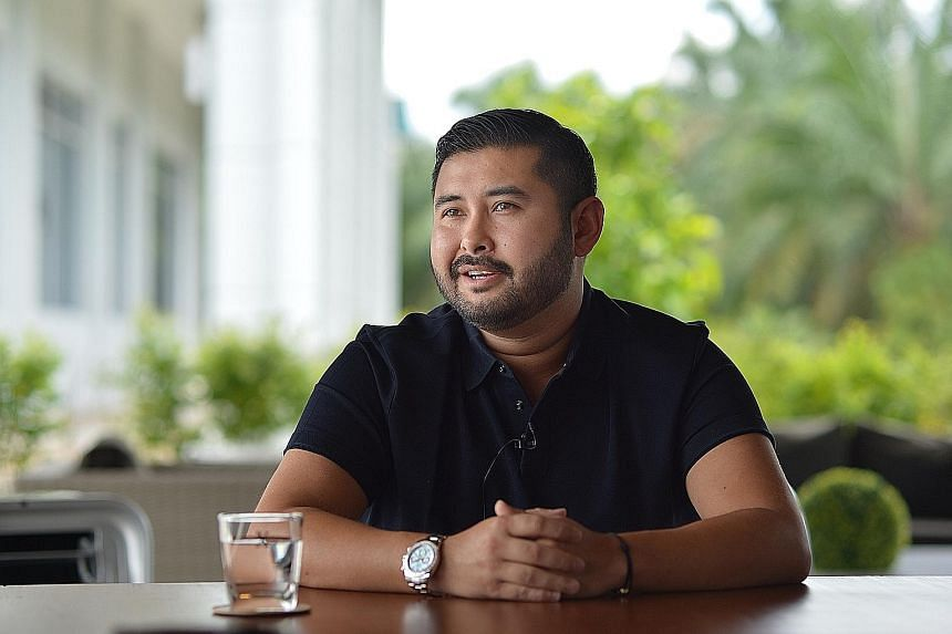 An indoor astro turf pitch, part of the Johor Darul Takzim first team's new RM15 million training facility in Padang Seri Gelam. The facility is part of Tunku Ismail's plans to propel the team into the elite of Asian football. Tunku Ismail says footb