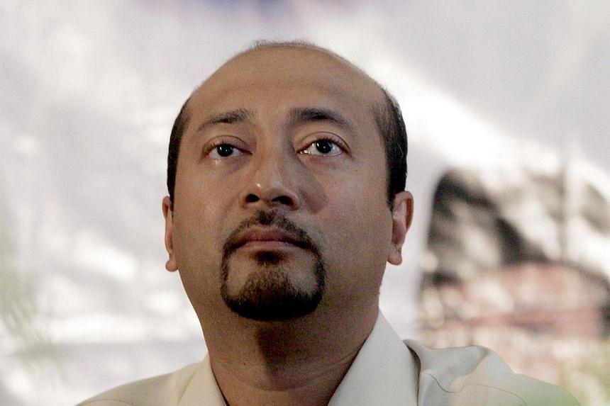 Malaysia's former premier Mahathir Mohamad's son Mukhriz Mahathir.
