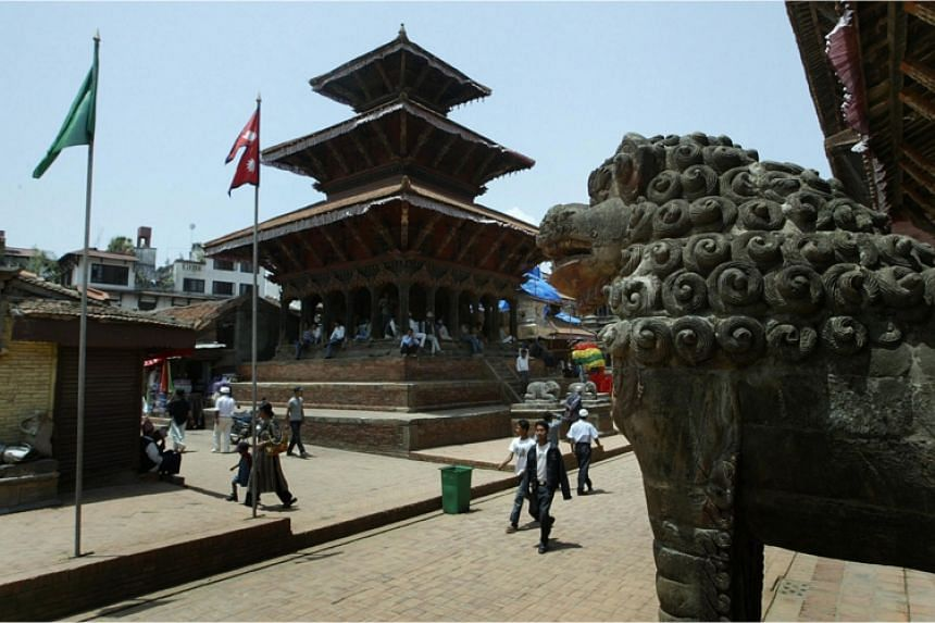 Patan Durbur Square, Kathmandu before the earthquake. PHOTO: AFP