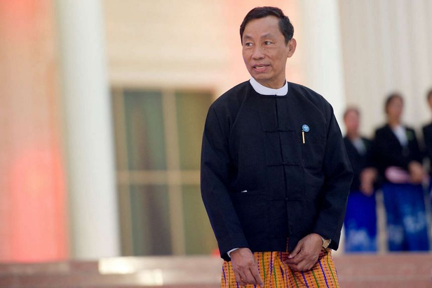 Myanmar's Union Solidarity and Development Party has expelled 17 members close to Former Parliament Speaker Shwe Mann (above) and seen as cooperating with Aung San Suu Kyi.
