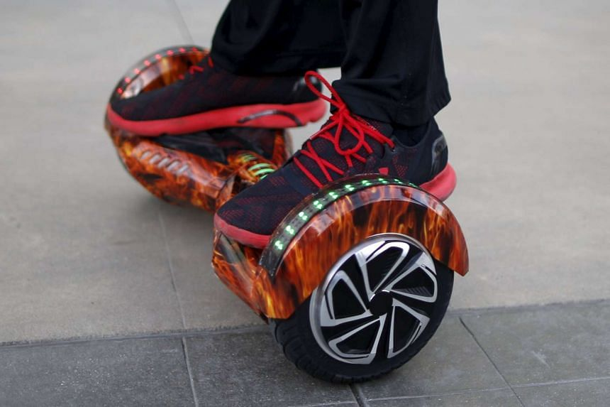 The European Union has warned against dangerous products for sale, including hoverboards.