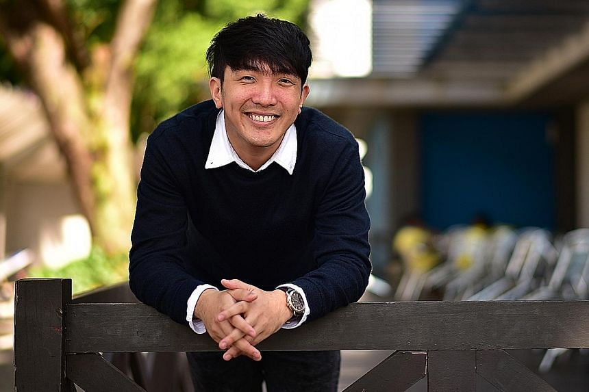 Mr Leong, 26, is a project and marketing executive at Social Lab, which runs social enterprise Dialogue in the Dark Singapore at Ngee Ann Polytechnic.