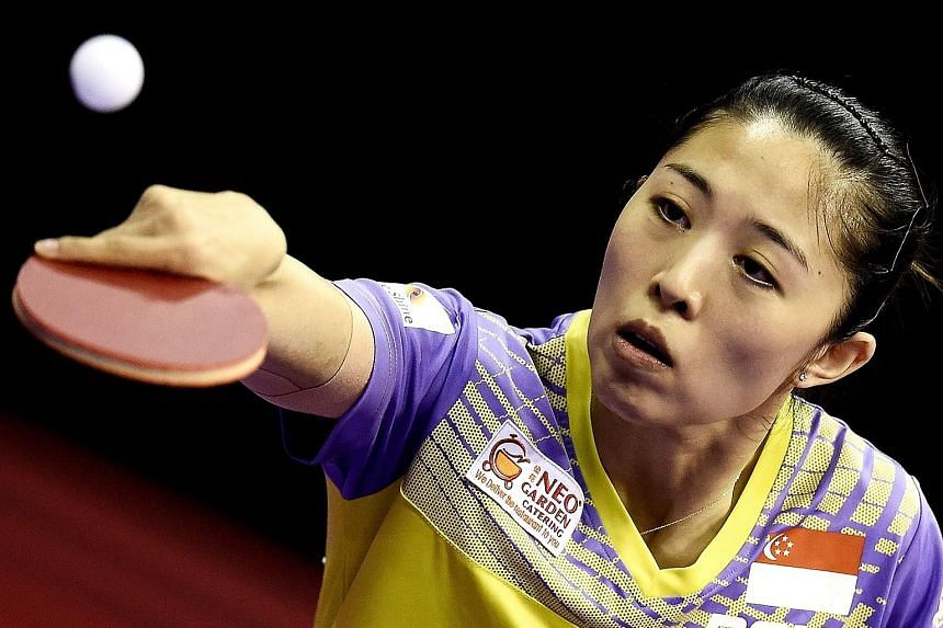 """Yu Mengyu, who was beaten by Japanese teenager Miu Hirano in the final of the Polish Open yesterday, said: """"My opponent was much more aggressive than when I last played her (at the Qatar Open in March). There are still many improvements that I can ma"""