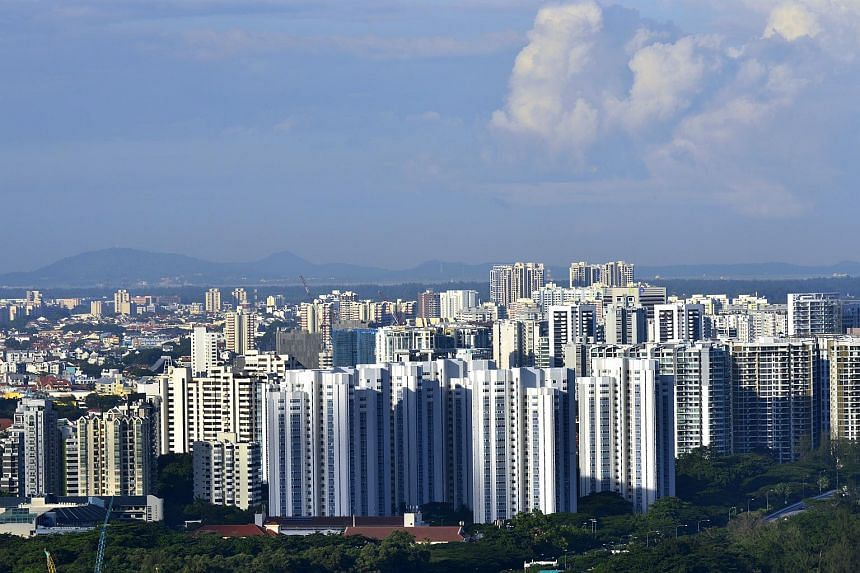 Private condominiums and HDB flats in the eastern part of Singapore.