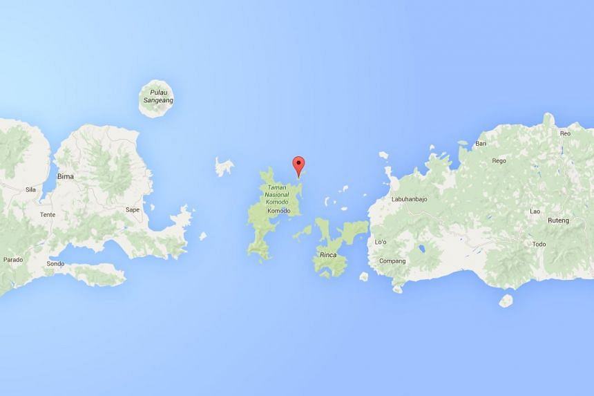 The body of Ms Neo Qiu Ping Vera was found on Monday (April 25, 2016) after she failed to return from diving in the waters of Gili Lawa (marked on the map) on Sunday.