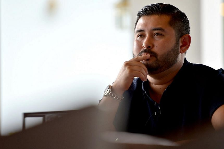 Johor crown prince Tunku Ismail Sultan Ibrahim during the interview with The Sunday Times, on April 20, 2016.