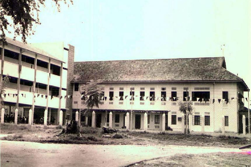 The old PLMGS at its campus in Boundary Road in the 1930s.