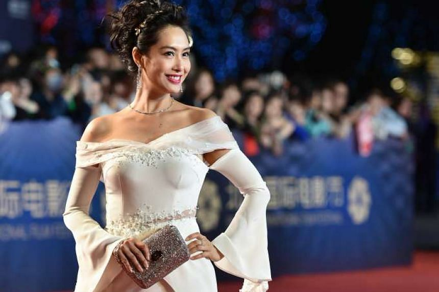 Hong Kong actress Athena Chu (above) and South Korean actor Kim Woo Bin were among the stars at the closing of the Beijing International Film Festival last Saturday, where the Argentine thriller Paulina won a Tiantan Award for Best Feature Film.