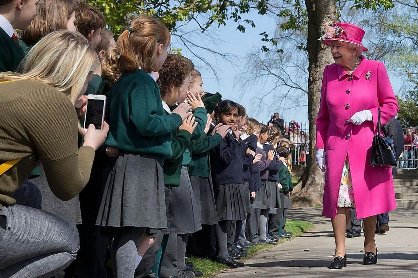 Queen Elizabeth II - seen here arriving to open a bandstand in Windsor last week - is Britain's 319th richest person. Others on the Rich List 2016 include (from top) F1 driver Lewis Hamilton, musician Adele and steel tycoon Lakshmi Mittal.