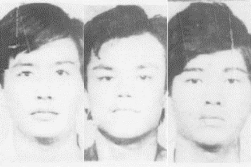 THE KILLERS: (from left) Yeo Ching Boon, Ong Hwee Kuan and Ong Chin Hock.