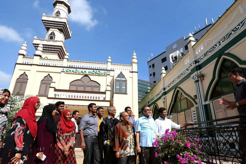 Muslim Youth Ambassadors for Peace touring the Religious Rehabilitation Group's office and speaking to members of Geylang Serai Inter-racial and Religious Confidence Circle on April 2, 2016.