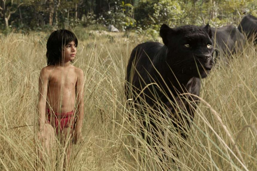 A still from the movie The Jungle Book.