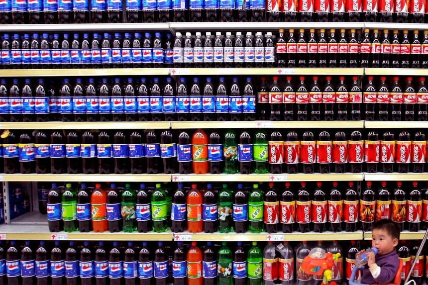 Western-style junk food and sugary drinks have been blamed for an increase in obesity among children in China.