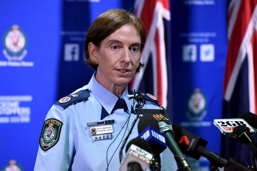 New South Wales (NSW) Police Deputy Commissioner Catherine Burn speaks during a media conference in Sydney, Australia, March 22, 2016.