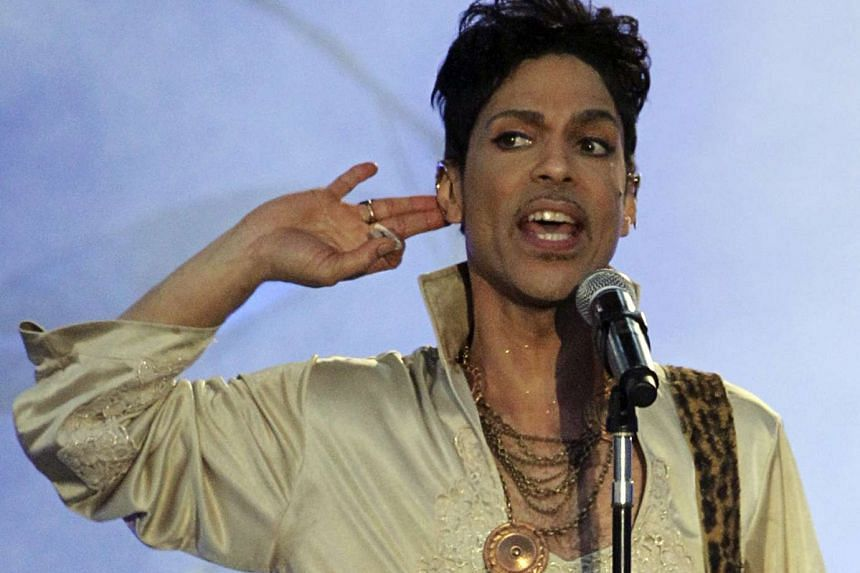 US musician Prince performs at the Hop Farm Festival near Paddock Wood, southern England on July 3, 2011.