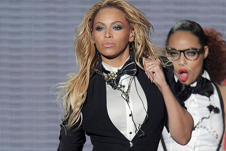Beyonce (above) addresses infidelity and its consequences in her new album.