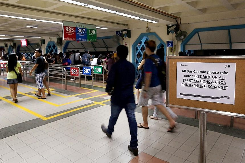 A power fault disrupted services on three MRT lines and one LRT line on Monday. Initial investigations showed that circuit breakers had tripped.