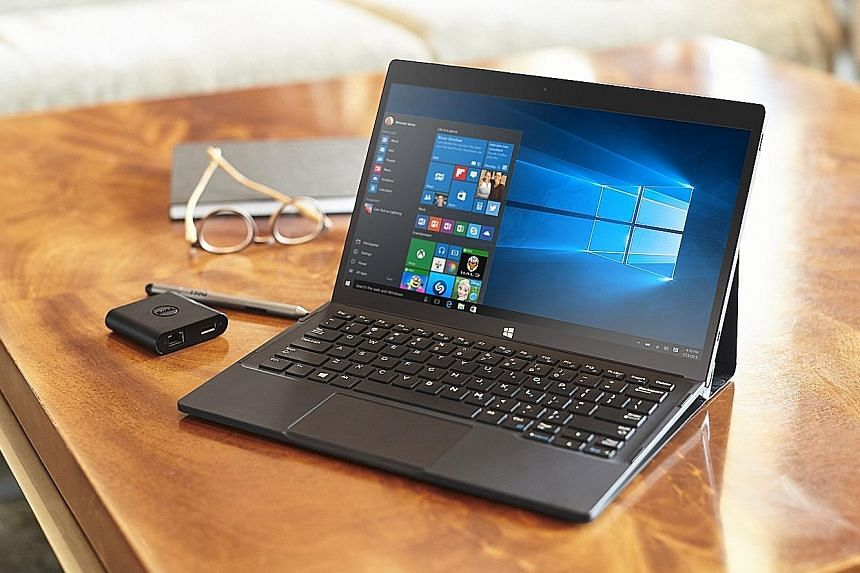 Key travel on the Dell XPS 12's keyboard is very good and comparable with a laptop. The glass touchpad is also smooth, responsive and supports Windows 10 multitouch gestures such as using two fingers to scroll and pan. But the 2-in-1 laptop-tablet ha