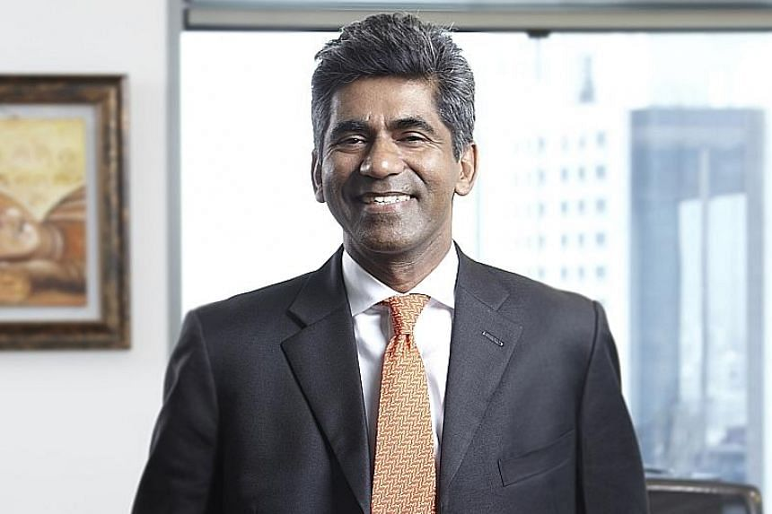 Mr Sriram decided to leave Swiss bank BSI to take 'a career break', according to a statement.