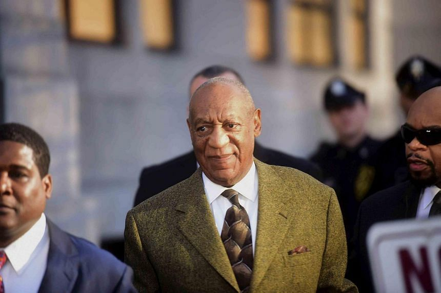 Bill Cosby departing from a preliminary hearing on sexual assault charges at the Montgomery County Courthouse in Norristown, Pennsylvania on Feb 2, 2016.