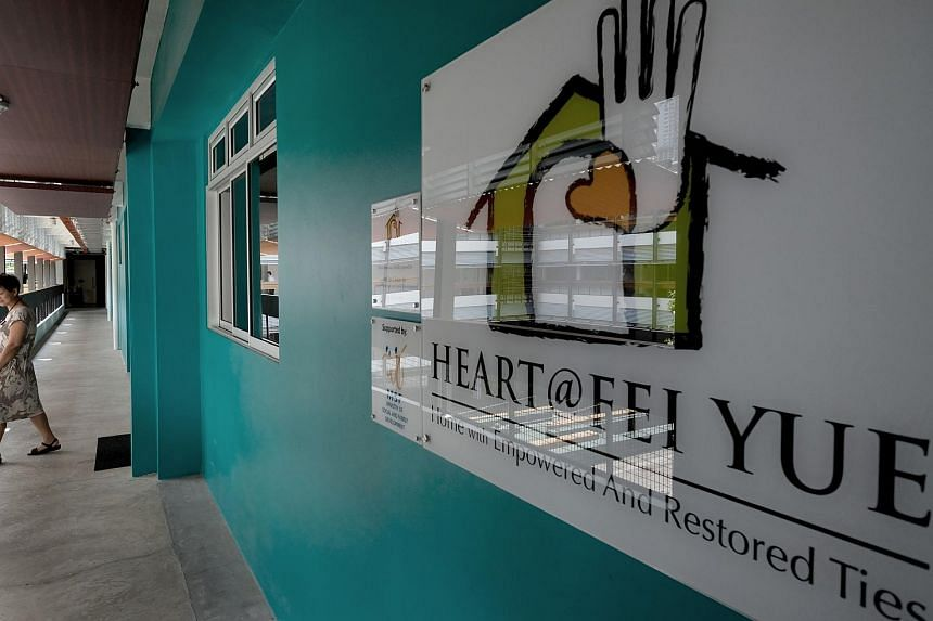 Heart@Fei Yue, a Child Protection Specialist Centre.
