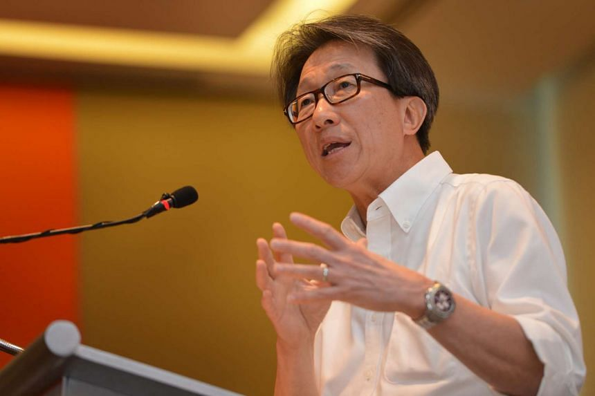 Manpower Minister Lim Swee Say.
