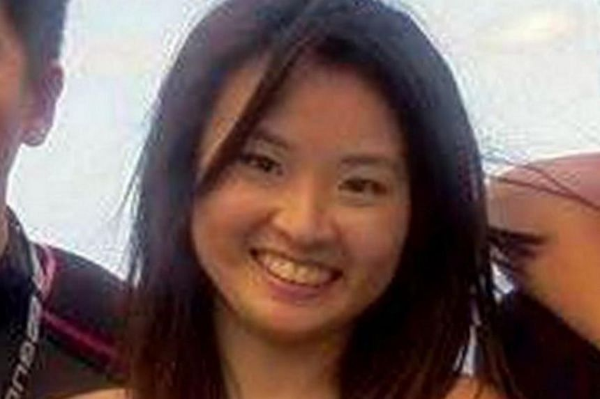 Miss Vera Neo Qiu Ping (above) who went missing on Sunday (April 24). Her body was found on Monday morning.