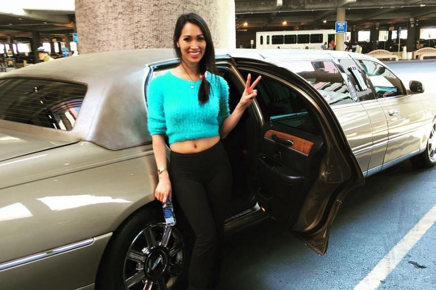 Angie Vu Ha in Las Vegas in 2015. She was arrested for parental kidnapping last November while attempting to board a flight to China with her daughter.