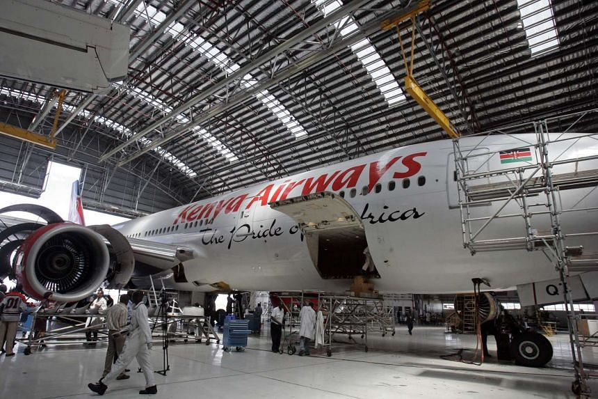 Kenya Airways has said that some flights were cancelled on April 28 due to a walkout by some of its pilots.