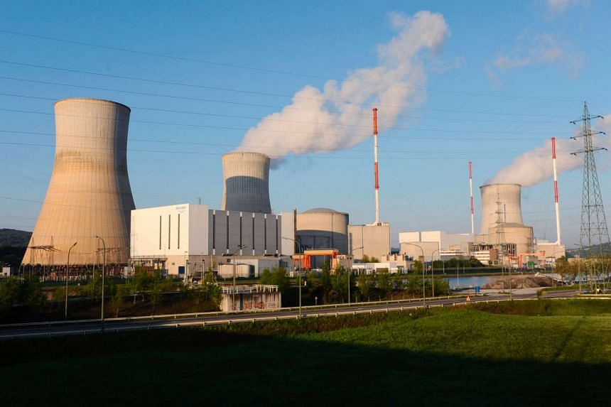 Belgium has issued iodine pills to its entire population to protect against radiation in the event of an accident at the country's Tihange (pictured) or Doel nuclear plants.