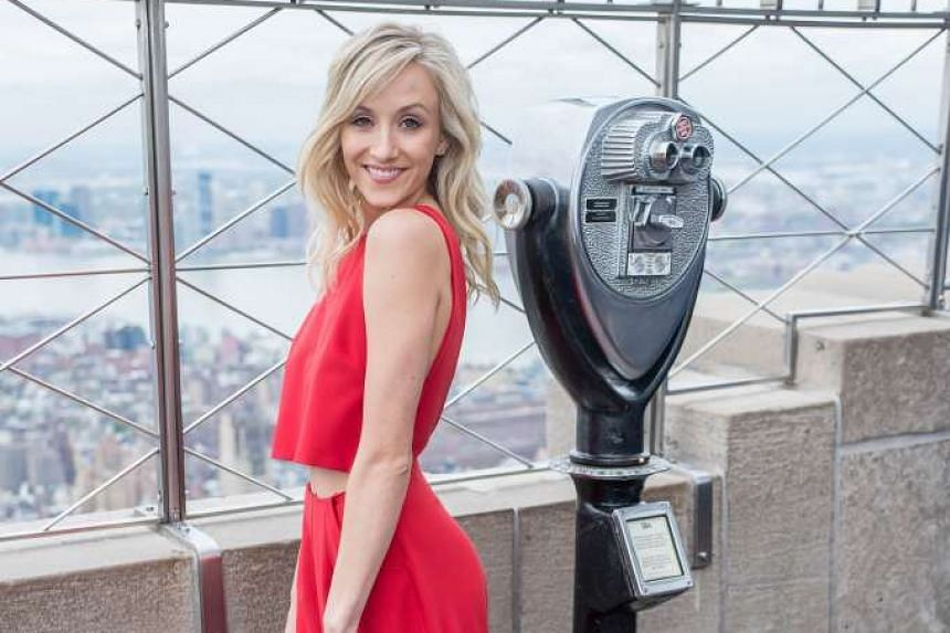 Former Olympic gymnastics champion Nastia Liukin (above) has said that Simone Biles is the best gymnast she has seen.