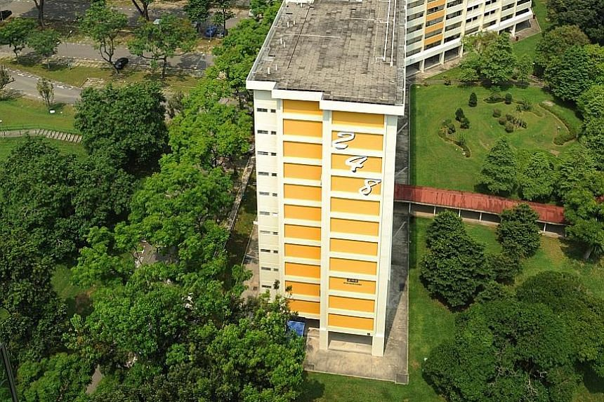 The 42,584 sq m site, which covers the four yellow and white blocks and an open-air carpark, will be boarded up for safety, said the HDB, with the demolition project expected to be completed by September 2018.