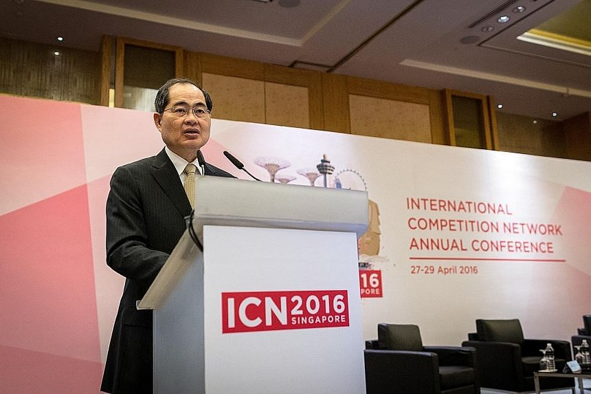 Speaking at the ICN event, Mr Lim said competition policy ensures markets are open to new entrants while allowing businesses to compete on a level playing field.