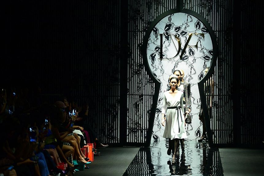 This year's Singapore Fashion Week will be held at National Gallery Singapore from Oct 25 to 30.