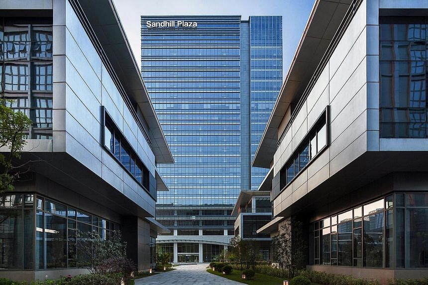 MGCCT's recently acquired business park project in Shanghai, Sandhill Plaza, is fully occupied.