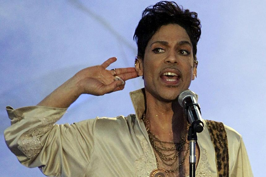 Prince performs at the Hop Farm Festival near Paddock Wood, England.