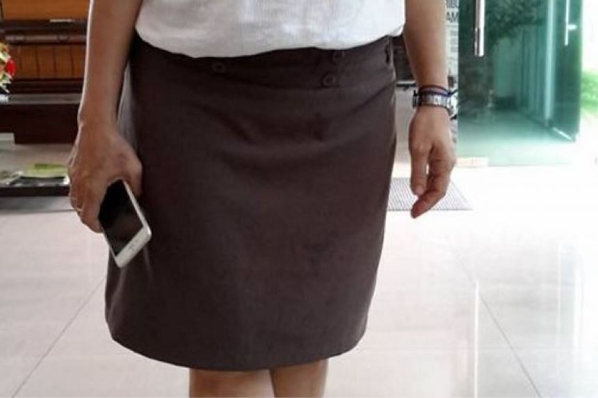 A security guard at the Institute of Language and Literature (DBP) northern region office in Penang prevented the woman from going in because of her knee-length skirt.