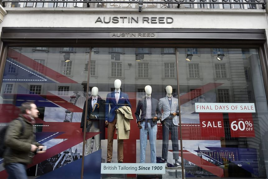 British formalwear retailer Austin Reed has filed for bankruptcy protection.