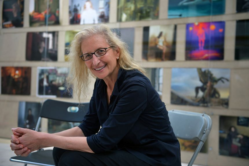 Photographer Annie Leibovitz's Women: New Portraits is on a global tour of 10 cities around the world.