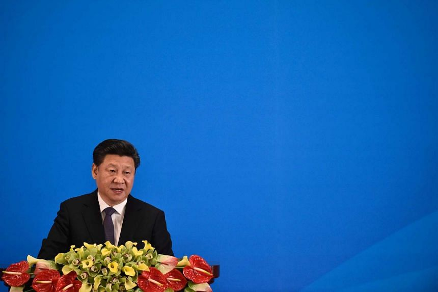 Allies of Chinese President Xi Jinping (above) are moving against the Communist Youth League, the power base of Premier Li Keqiang.