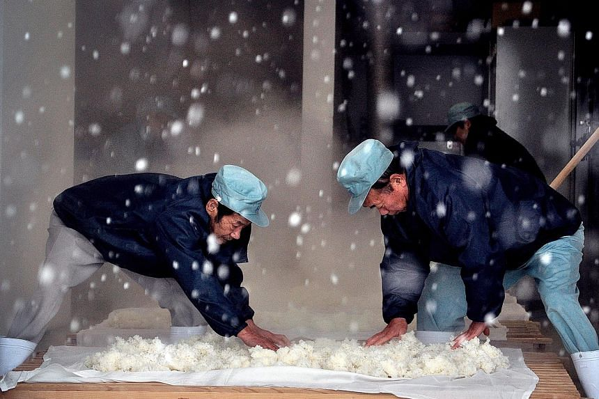 The Birth Of Sake is about a small group of passionate sake-makers at Yoshida Brewery in Japan.